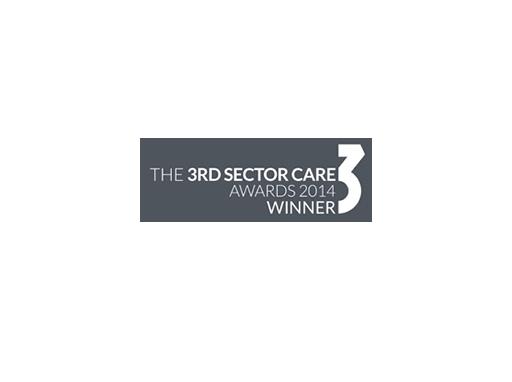 2014 – Third Sector Care Awards Winner