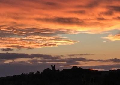 Sunset at Bodster